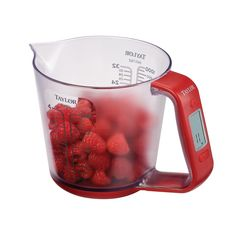 Digital measuring cup and scales combined - pretty cool