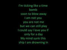 "Jessy Greene, ""Time Bomb"" w/ lyrics"