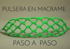 pulseras de hilo ancha paso a paso | tutorial macrame | frienships brace...