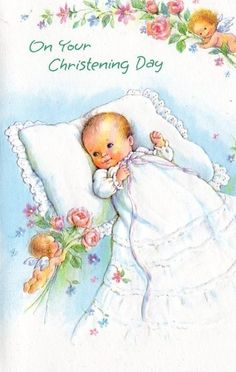 Unused Baby Card ~ (A96)