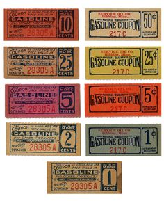 Gasoline Coupons
