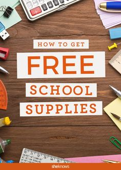 If you have more than one kid, the cost of school supplies can quickly add up. Here are some of our favorite no-cost school supply resources. #Budget  #BacktoSchool