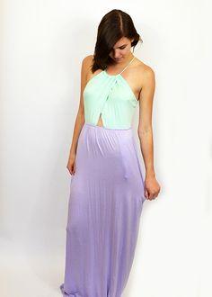 Mint Lavender Maxi $58