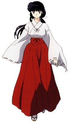 Kikyou (from Inuyasha) I think I would rather cosplay as than kagome