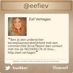 @Eef Verhagen  Twitter profile courtesy of @Pinstamatic (http://pinstamatic.com)