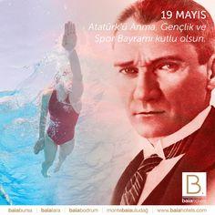 19 Mayıs Atatürk'ü Anma, Gençlik ve Spor Bayramımız kutlu olsun. We celebrate May 19th The Commemoration of Atatürk, Youth and Sports Day of Turkish Nation with honor. #baiahotels #baialara #atatürk