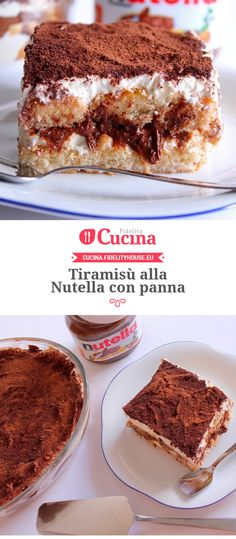 #Tiramisù alla #Nutella con #panna della nostra utente Giovanna. Unisciti alla nostra Community ed invia le tue ricette!