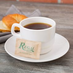 Regal Foods 2.8 Gram Raw Turbinado Sugar Packet - 1000/Case