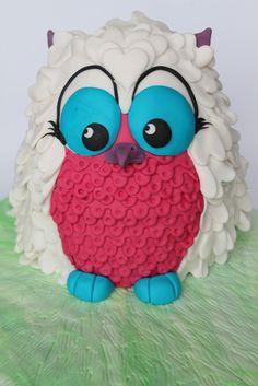 Owl Cake - Owl Cake.