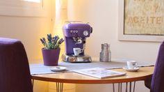 Ascaso Dream intense violet - www. Outdoor Garden Furniture, All Things Purple, Keurig, Coffee Maker, Drinks, Coffee Machines, Pots, Appliances, Range