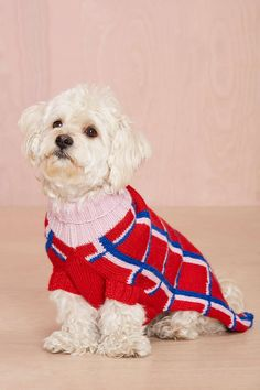 Dusen Dusen Cube Tube Dog Sweater