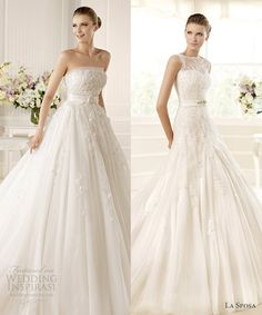 La Sposa 2013 Wedding Dresses Glamour Bridal Collection picture on the right Rosa Clara Wedding Dresses, Wedding Dresses 2014, Wedding Gowns, Bridesmaid Dresses, Wedding Dress Accessories, Beautiful Gowns, Bridal Collection, Bridal Gowns, Nice Dresses