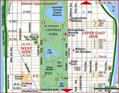 upper west side map upper west side less pretentious than the