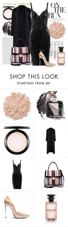 """""""QUEEN OF SAPPHIRE"""" by gaby-mil ❤ liked on Polyvore featuring Oris, La Mer, Avon, MAC Cosmetics, Louis Vuitton and queenofsapphire"""