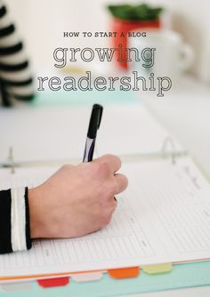 5 practical and helpful tips for growing your blog readership // Elle and Company