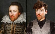 how-historical-figures-would-have-looked-today-1 #William Shakespeare