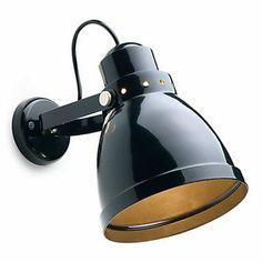 Spot mural laqué noir GM - 60 W Spot Luminaire, Luminaire Design, Porcelain Vase, Fine Porcelain, Traditional Wall Lighting, Spot Mural, Luminaire Applique, Wall Spotlights, Bathroom Ceiling Light