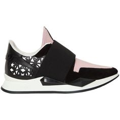 Givenchy Women 30mm Active Neoprene Slip-on Sneakers ($885) ❤ liked on Polyvore featuring shoes, sneakers, slip on trainers, slip-on sneakers, givenchy, givenchy shoes and cut out shoes