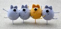 Вселенная доброты и улыбок валяных игрушек Elena Covert - Ярмарка Мастеров - ручная работа, handmade