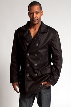HoodLambs' P Coat - The sophisticated P Coat is HoodLambs latest additional to its line of durable hemp Winter Jackets. Inspired by the traditional Peacoat, it features a stylish collar, a double-breasted front and custom crest buttons. It is lined with a thinner Satifur lining than the Classic HoodLamb, making it a great Fall jacket. Combined with a woolen sweater it's a perfect coat for colder days as well. Made from hemp, organic cotton and vegan fake fur.