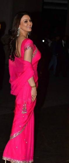 Preity Zinta at Shahid Kapoor and Mira Rajput's wedding reception