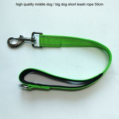 Find More Leashes Information about New Strong Dog Belt Traction Rope Big Dog 50cm Short Leash Collar Nylon Rope For Large Dogs Accessories CL106green,High Quality traction rope,China short leash Suppliers, Cheap leash collar from Tongmao Pets Store on Aliexpress.com