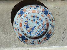 Assiette 18è En Porcelaine De Chine