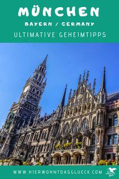 München ist eine der meistbesuchten Städte Europas. Genau deshalb nennen wir dir hier 10 München Insider Tipps bzw. Geheimtipps abseits der Touristenpfade. Wir haben München ein Wochenende lang erkundet und dabei eine Menge Geheimtipps für München gesammelt. #münchen #travel #citytripp Cologne, Barcelona Cathedral, Happiness, Building, Travel, Europe Travel Tips, Bonheur, Buildings, Viajes