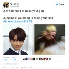 #ThanksgivingwithBTS