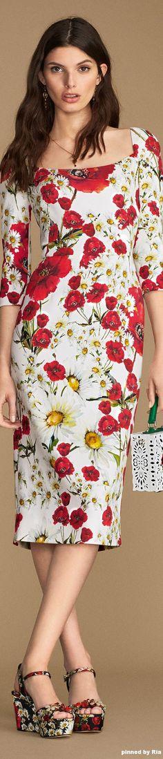 Dolce & Gabbana Summer 2016 l Ria