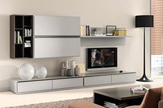 ST-0007 Белая мебель в гостиную Подробнее: http://taburetti.kiev.ua/2016/01/26/belaya-mebel-v-gostinuyu/ #мебель #стенка #гостиная