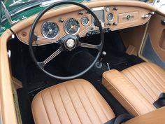1960 MGA 1600 Interior
