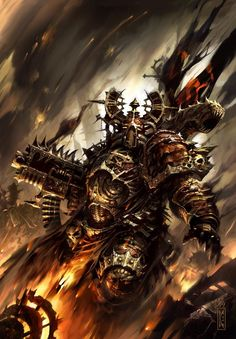 a-40k-author:  It's an incredibly tough call, but I think Raymond Swanland may be my favourite 40k artist.