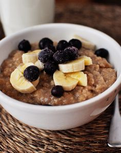 Overnight Maple & Brown Sugar Steel Cut Oatmeal