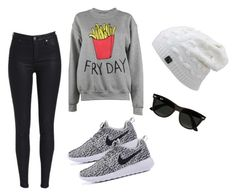 """""""Outfit Winter"""" by turbopeka on Polyvore featuring moda, Adolescent Clothing y Ray-Ban"""