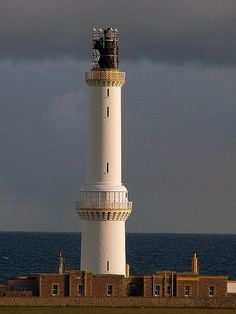 Girdle Ness Lighthouse - Aberdeen, Scotland