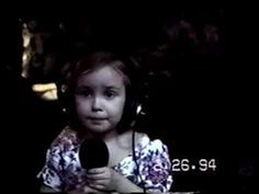 The Original Video of the Cuppycake Song Sung By Amy Castle
