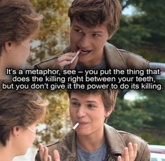 My favorit part of film thefaultinourstars thefaultinourstarsmovie tfios tfiosmovie tbt movie film metaphor anselelgort anselelgorttfios shailenewoodley augustuswaters johngreen hazelgrace ansel shailenewoodley Insurgent Quotes, Divergent Quotes, Tfios, John Green Quotes, John Green Books, Star Quotes, Film Quotes, Sad Movie Quotes, Popular Movie Quotes