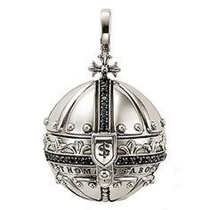 Thomas Sabo Silver Orb Pendant - I finally found one and I love it ! Fashion Accessories, Fashion Jewelry, Ear Jewelry, Jewelry Box, Jewelry Making, Thomas Sabo, Jewelry Design, Bling, Charmed