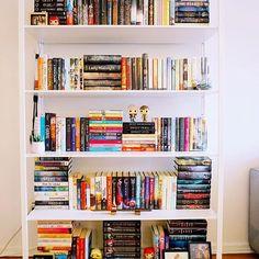 #shelfiesunday I cant get over what a huge difference this new bookshelf plus a little rearranging can make! . . . #bookstagram #booklover #bookworm #bookish #bookgram #bibliophile #booksofinstagram #bookstagrammer #booknerd #booklove #bookstagramfeature #bookaddict #igreads #bookblogger #bookshelf #igbooks #ilovebooks #shelfie #interiordesign #sonya6000 #sonyalpha #sony #igdaily #homedecor #ikea