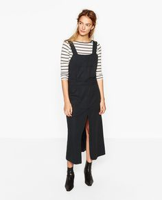 DUNGAREE SKIRT #joinlife-Collection-JOIN LIFE-WOMAN | ZARA United States