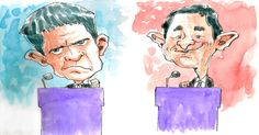 Valls vs Hamon : le débat de la confirmation