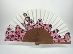 camisetas pintadas con flamencas - Buscar con Google Antique Fans, Antiques, Hand Fans, Diy, Google, Andalucia, Spain, Dance, World