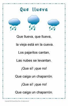 Build vocabulary and cultural awareness with this set of four traditional Spanish songs and rhymes. The 11 x 17 inch posters are laminated for easy display in your classroom. Digital versions of Preschool Spanish, Spanish Lessons For Kids, Learning Spanish For Kids, Spanish Basics, Elementary Spanish, Preschool Songs, Spanish Activities, Spanish Language Learning, Learning Italian