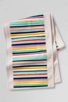 Printed Canvas Table Runner from Lands' End