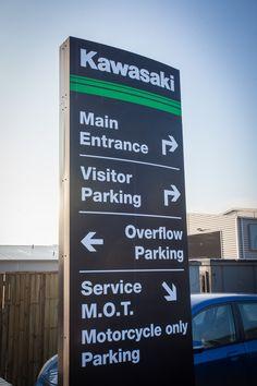 Kawasaki Totem Sign