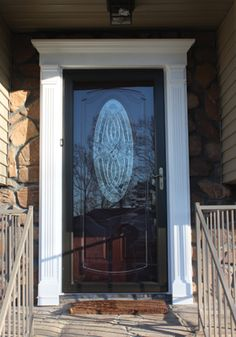 Front Door Replacement: Not Only Was The Style Of The Existing Front Door  Outdated, But Someone Had Improperly Trimmed The Lower Edge Of The Door So  It