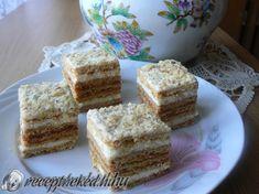 Mézes krémes Krispie Treats, Rice Krispies, Hungarian Recipes, No Bake Cake, Vanilla Cake, Paleo, Cake Baking, Muffin, Food