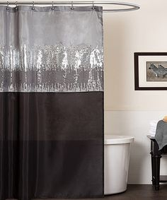 Another great find on #zulily! Night Sky Shower Curtain by Lush Décor #zulilyfinds