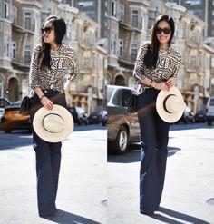 high waisted pants outfit - Поиск в Google